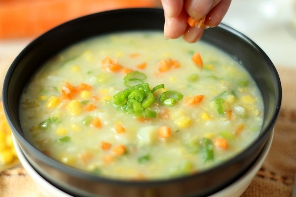 Sweet Corn Veg. Soup